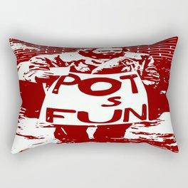 Allen Ginsberg Rectangular Pillow