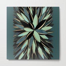 Deco Cactus Green #buyart #homedecor Metal Print