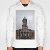 dublin Hoodies featuring Dublin Castel by Chalene Malekoff