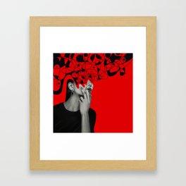 Abstraction - version 6. Framed Art Print