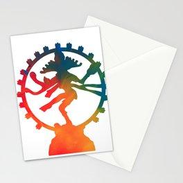 Lord Shiva Nataraja Doing The Divine Tandava Stationery Cards