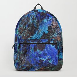 Malachite Mineral Stone rustic decor Backpack
