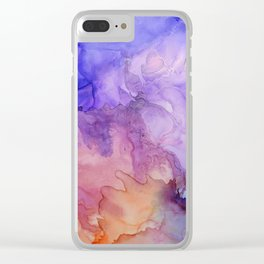 Storm at Sunset Clear iPhone Case