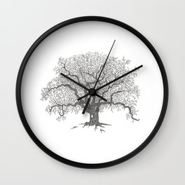 Tree 1 Wall Clock