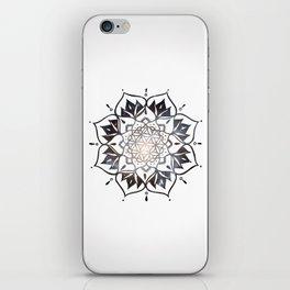 Namaste Nebula Mandala Design iPhone Skin
