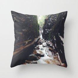 White Mountains New Hampshire Throw Pillow