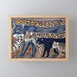 Big cats of Costa Rica Framed Mini Art Print
