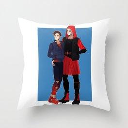 Spideypool Throw Pillow