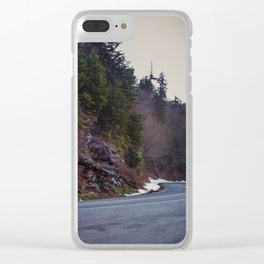 Great Smoky Mountains Clear iPhone Case