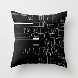 noisy pattern 04 Throw Pillow
