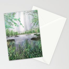 A place for light Stationery Cards