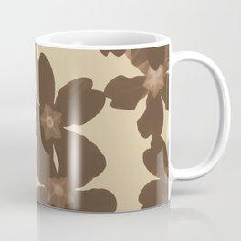 Toffee Soybean Primrose Pattern Coffee Mug