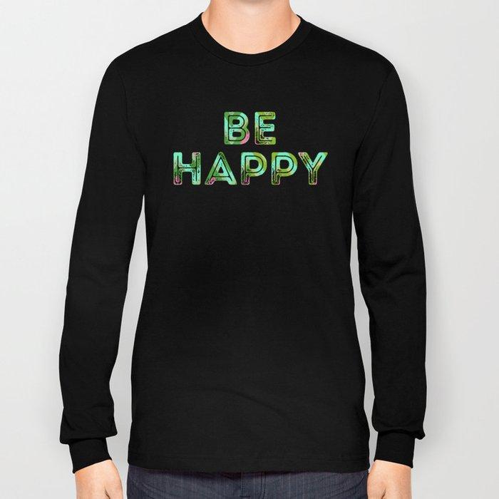 HappyChevron Long Sleeve T-shirt