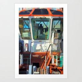 Power tug - Bugsier 5 Art Print