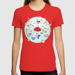 Birds in the circus T-shirt