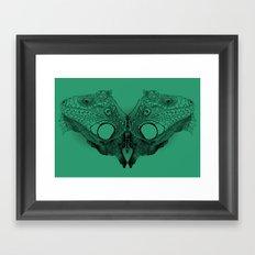 Winged Beauty Framed Art Print