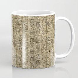 Egyptian Hieroglyphics Coffee Mug