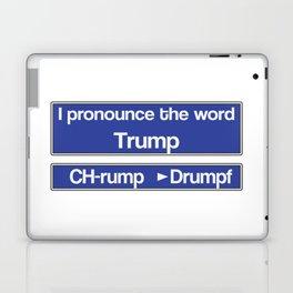 How to Pronounce Trump Laptop & iPad Skin