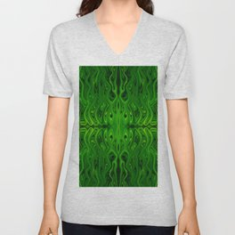 Toxic Squid by Chris Sparks Unisex V-Neck