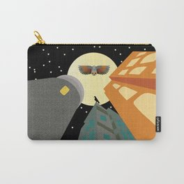 Towers facing the moon Carry-All Pouch