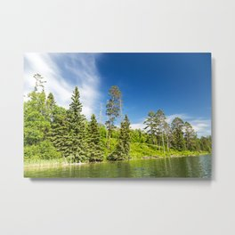 Lake Itasca - Minnesota, USA 3 Metal Print