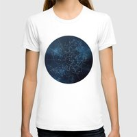 celestial T-shirts featuring Celestial Map by Rose's Creation