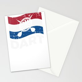 Dutch Darter Netherland Darts Gift Stationery Cards