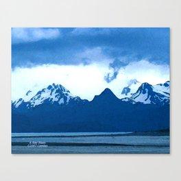 K-Bay Blues Canvas Print