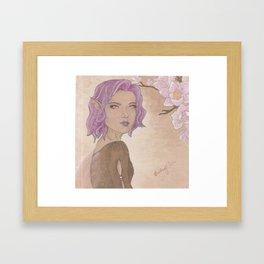 Magnolia Fae (2) Framed Art Print