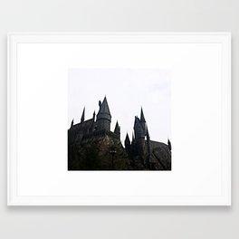 Hogwarts Castle Framed Art Print