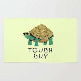 tough guy Rug