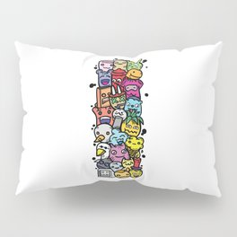 Alphabet I. Series of alphabet that suit your personality. Pillow Sham