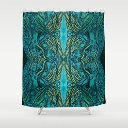 Underwater secrets Shower Curtain