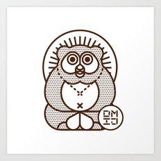 TANUKI Art Print
