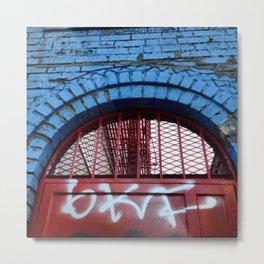 Bushwick Archway Metal Print