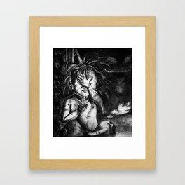 Shower Time! Framed Art Print