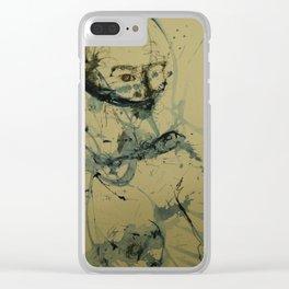 Aunque me quieras callar Clear iPhone Case
