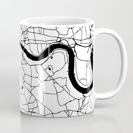 London Minimal Map Coffee Mug