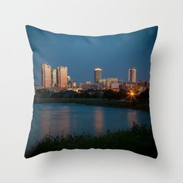 Fort Worth, Texas Throw Pillow