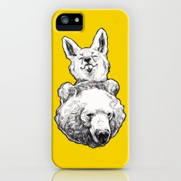 foxbear iPhone Case