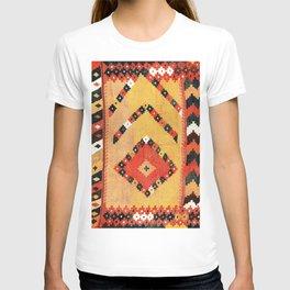 Arabi Bokhara Uzbekistan Kilim Saf Print T-shirt