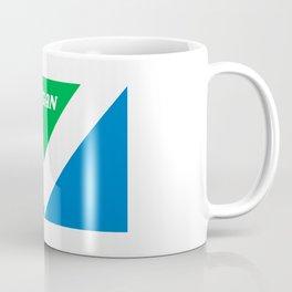 VEGAN flag Coffee Mug