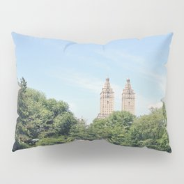 Central Park Lake Pillow Sham