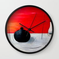 asia Wall Clocks featuring Asia design by LoRo  Art & Pictures