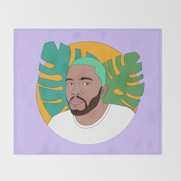 DRMLVR- FrankOcean Throw Blanket