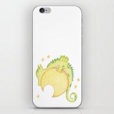 dragon & moon iPhone & iPod Skin