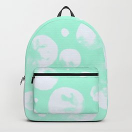 Snowballs-Light turquoise backgroud Backpack