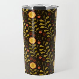 floral night Travel Mug