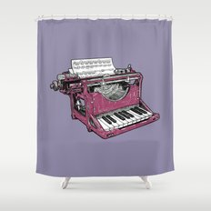 The Composition - P. Shower Curtain