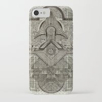 chakra iPhone & iPod Cases featuring Second Chakra by Work the Angle